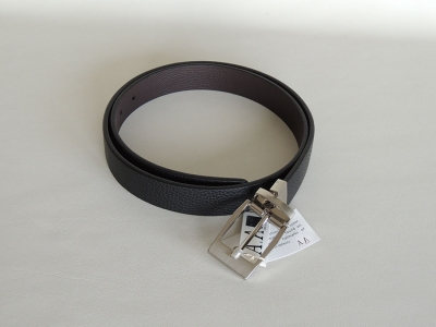 cintura uomo cervo- accessori in pelle- leather belts, accessories made In Italy by A&A