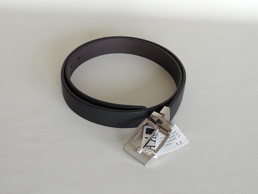 cinture uomo artigianali: cintura double face in pelle di cervo