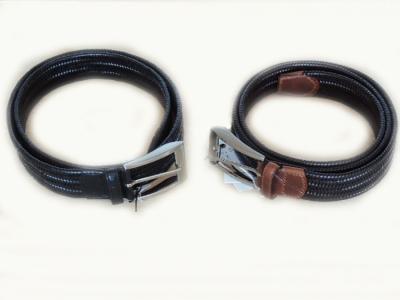 cinture elastiche in pelle uomo