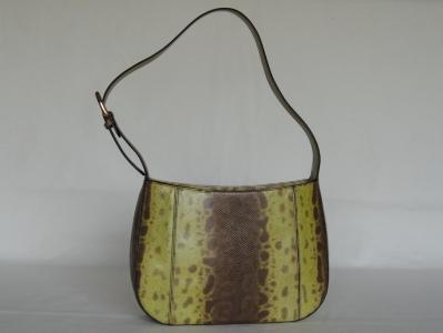 borse artigianali  in lucertola e karung