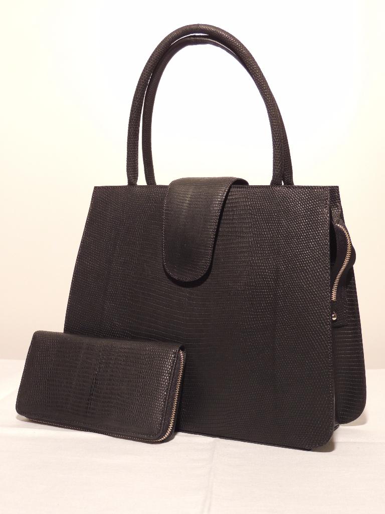 borse in lucertola: borsa artigianale rigida in pelle di lucertola